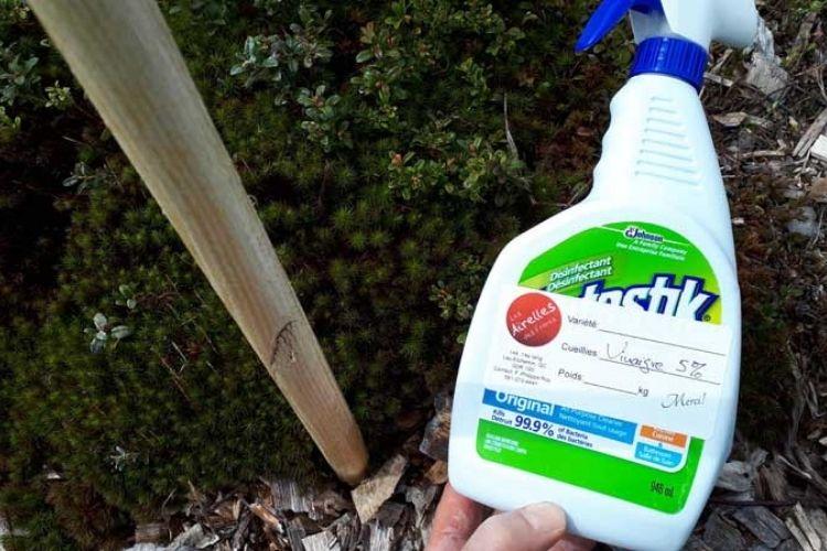 herbicides à base de soude caustique