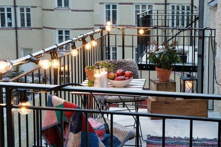 decoration balcon dappartement